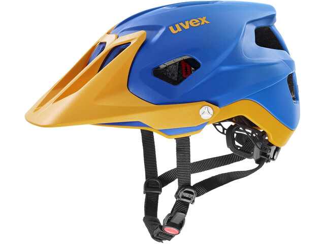 UVEX Quatro Integrale Kask rowerowy, blue energy mat